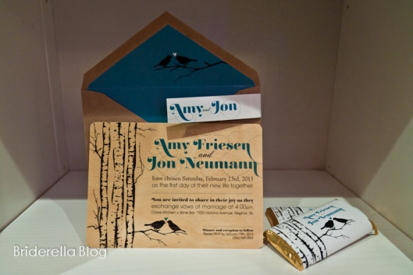 outdoor nature-inspired wedding invitation
